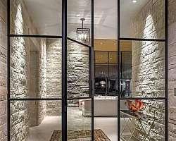 Porta de vidro para comércio