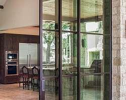 Porta de vidro 4 folhas