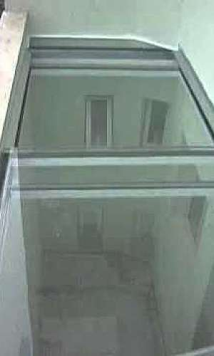 Cobertura de vidro retrátil em Santo André
