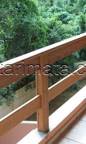 Fechamento de varanda de madeira