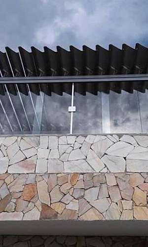 Janela de vidro de correr