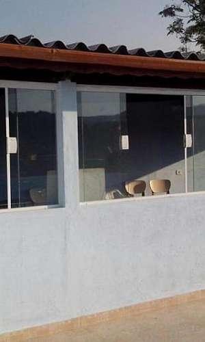 Janela de vidro para varanda