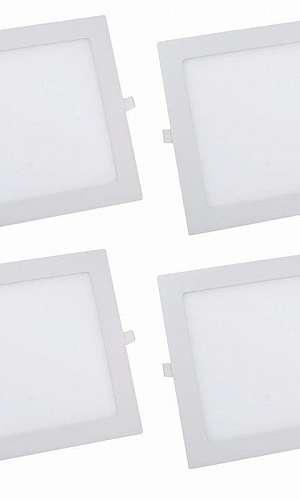 Lâmpada LED quadrada