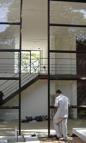 Pele de vidro para fachadas