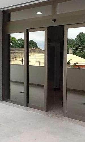 Porta de vidro abertura automática