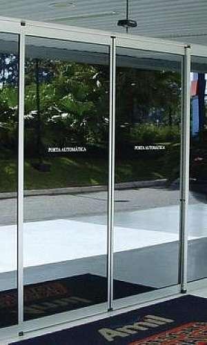 Portas de vidro automáticas