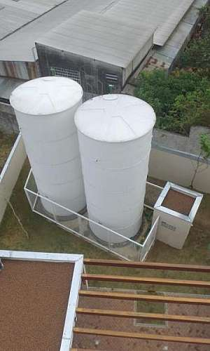 Tanque de fibra de vidro industrial